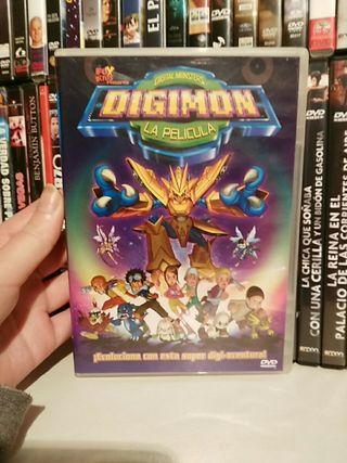 DVD Digimon COMO NUEVO
