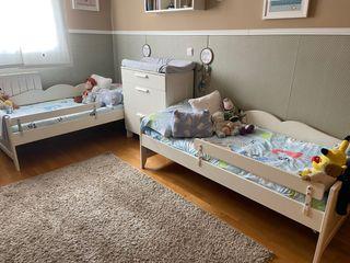 Habitación infantil gemelos mellizos
