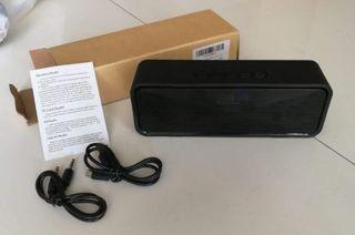 NUEVO - Altavoz bluetooth con radio, USB y microSD