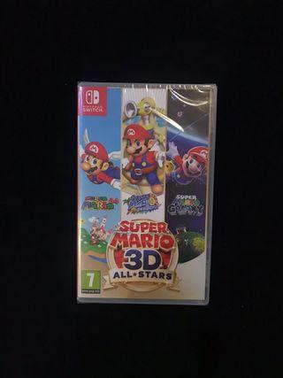 Super Mario 3d All Stars Switch PRECINTADO