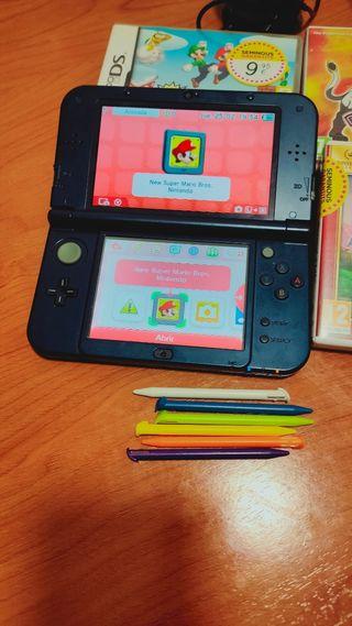 NINTENDO NEW 3DS CON 3 JUEGOS