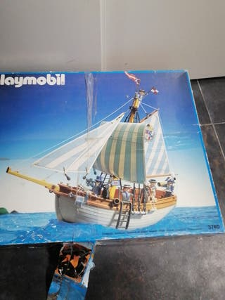 Barco Playmobil antiguo