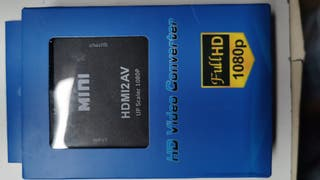 HDMI Para A Av Convertidor 1080P 3 Rca Compuesto