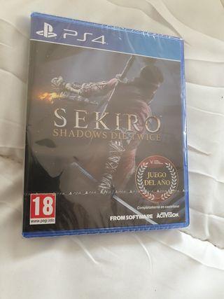 Sekiro Shadows Die Twice NUEVO