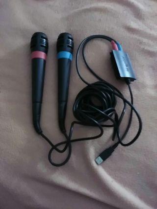 Micrófonos de la PlayStation