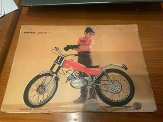 Montesa cota 25 catalogo original