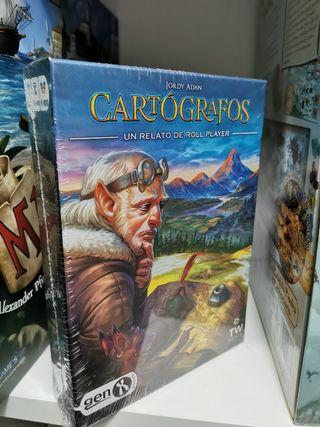 Cartógrafos: Un relato de roll player.