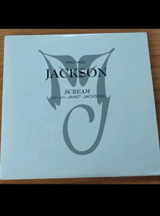 "cd ""Scream"" Michael jackson"