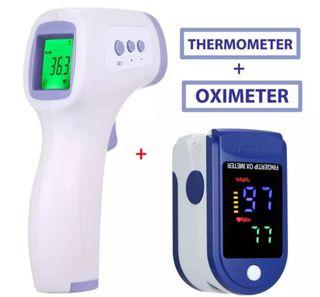 termometro + oximetro
