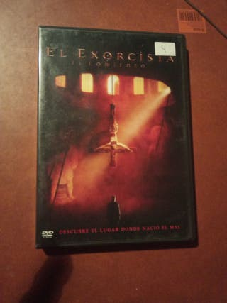 DVD pelicula El Exorcista