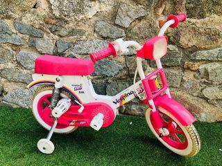 Bicicleta niña vespino rossi eléctrica ( LEER )