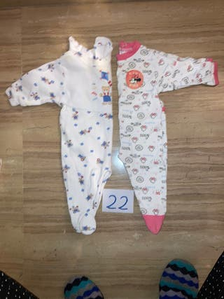 2 péleles monos pijamas 3 meses, ropa bebé