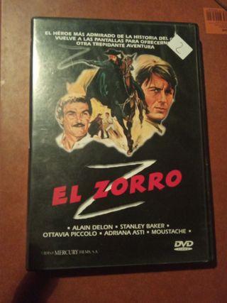 DVD pelicula El Zorro