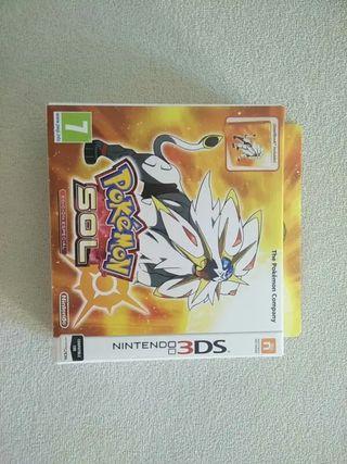 Juego Nintendo 3DS - Pokemon Sol Edición Especial