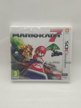 juego Mario kart 7 de Nintendo 3ds nuevo precintad