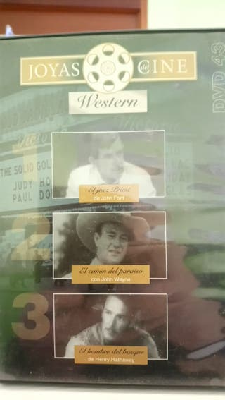 cine Western dvd 3 películas