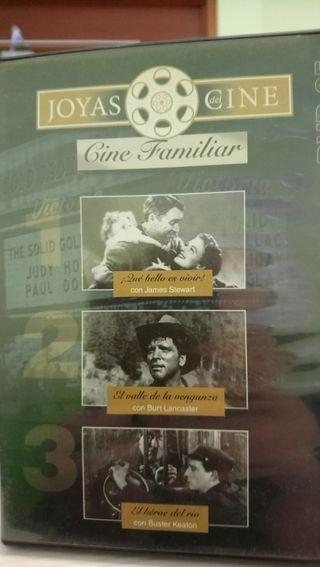 cine dvd 3 películas