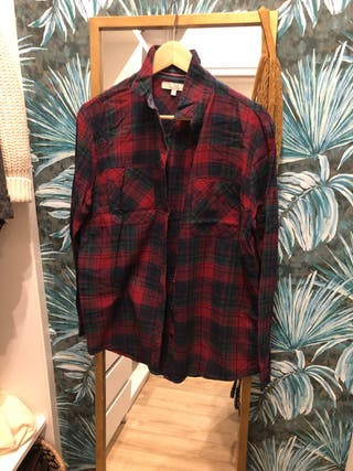 Camisa de cuadros de c&a talla m