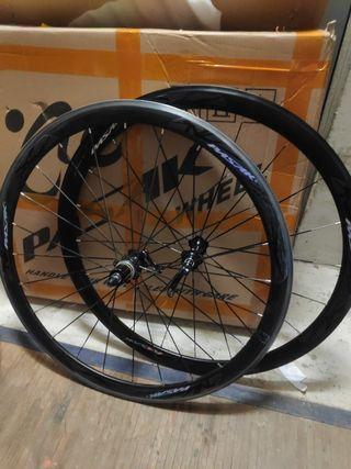Ruedas bicicleta carretera aluminio perfil 40