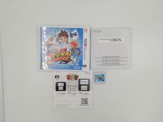 YO KAI WATCH NINTENDO 3DS