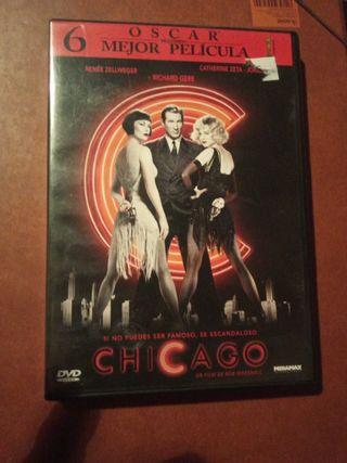 DVD pelicula Chicago