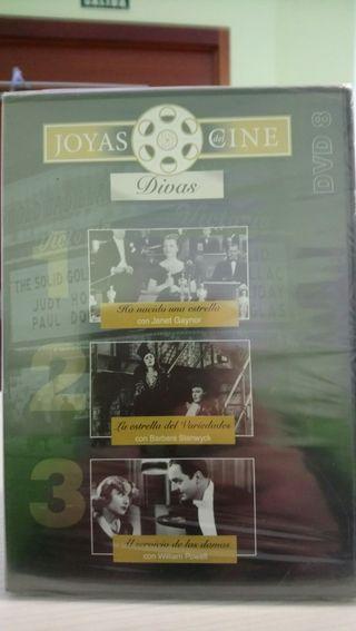 cine divas dvd 3 películas