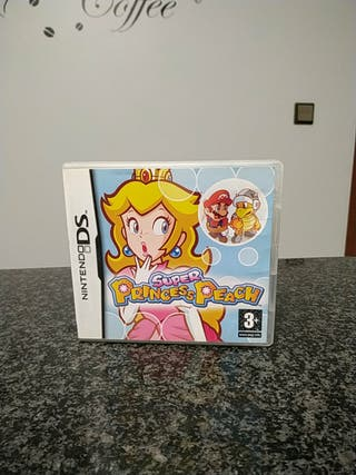 Super Princess Peach juego Nintendo DS 3DS