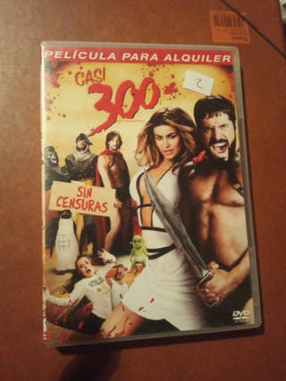 DVD pelicula Casi 300