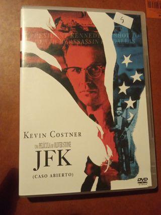 DVD pelicula JFK
