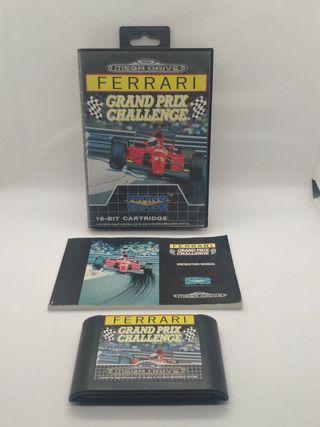 juego Ferrari de Sega mega drive Pal España