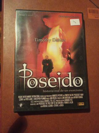 DVD pelicula Poseido