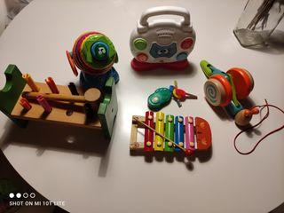 juguetes 0-3 años