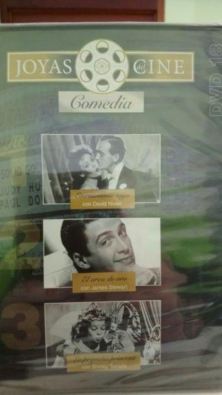 cine comedia dvd 3 películas