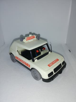 coche playmobil antiguo