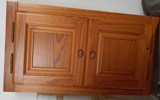 Mueble armario de madera