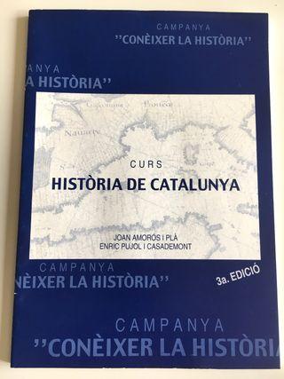 Libro catalán: Curs Història de Catalunya