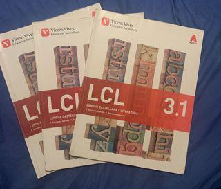 LIBROS DE LENGUA CASTELLANA Y LITERATURA 3 ESO