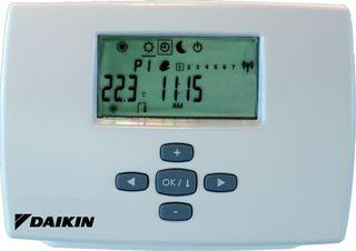 Termostato programador semanal Daikin EKRTWA