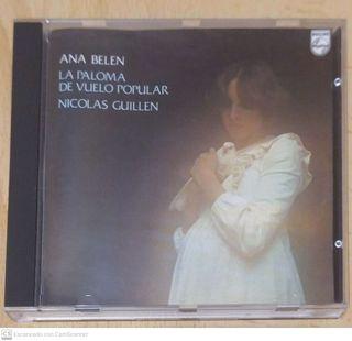 ANA BELEN (LA PALOMA DE VUELO POPULAR) CD 1989