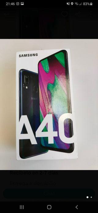 Caja Samsung Galaxy A40