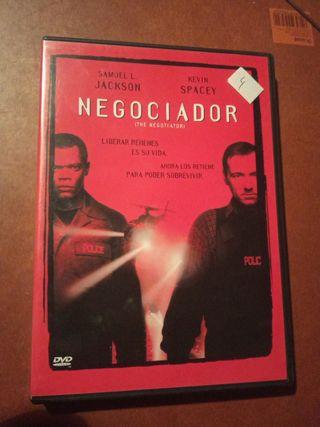 DVD pelicula El negociador