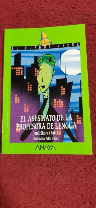 libro,EL ASESINATO DE LA PROFESORA DE LENGUA