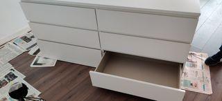 Cómoda IKEA doble