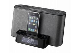 Sony despertador conector iphone ipod antiguo