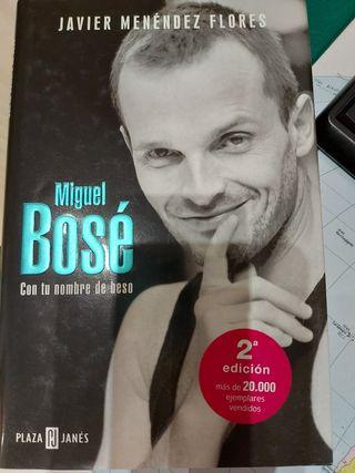 libro de Miguel Bose