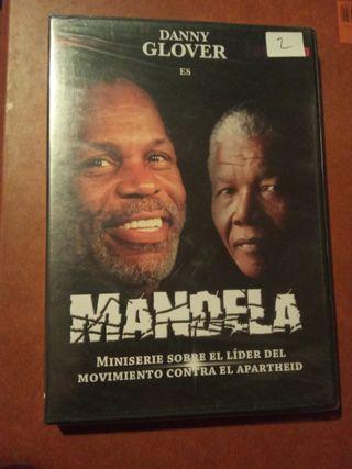 DVD pelicula Mandela