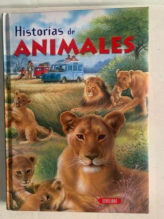 LIBRO ANIMALES NUEVO SIN USO