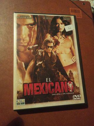 DVD pelicula El Mexicano