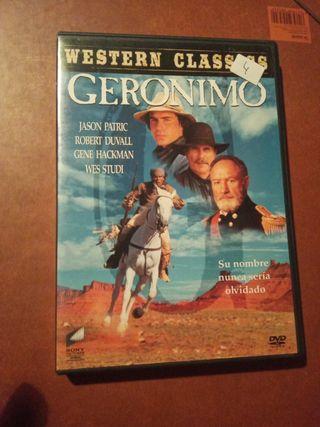 DVD pelicula Geronimo