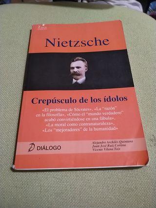 crepúsculo de los ídolos Nietzsche 2º bachillerato